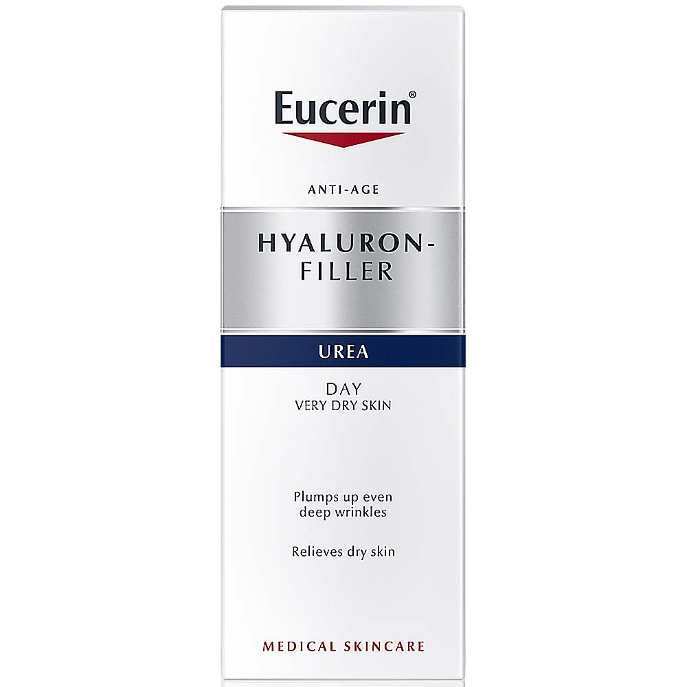 EUCERIN Hyal – Urea Denní krém proti vráskám 50 ml