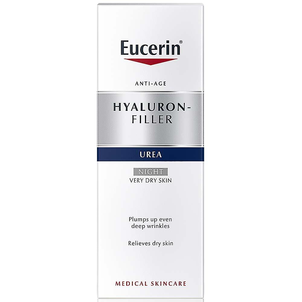 EUCERIN Hyal – Urea Noční krém proti vráskám 50 ml