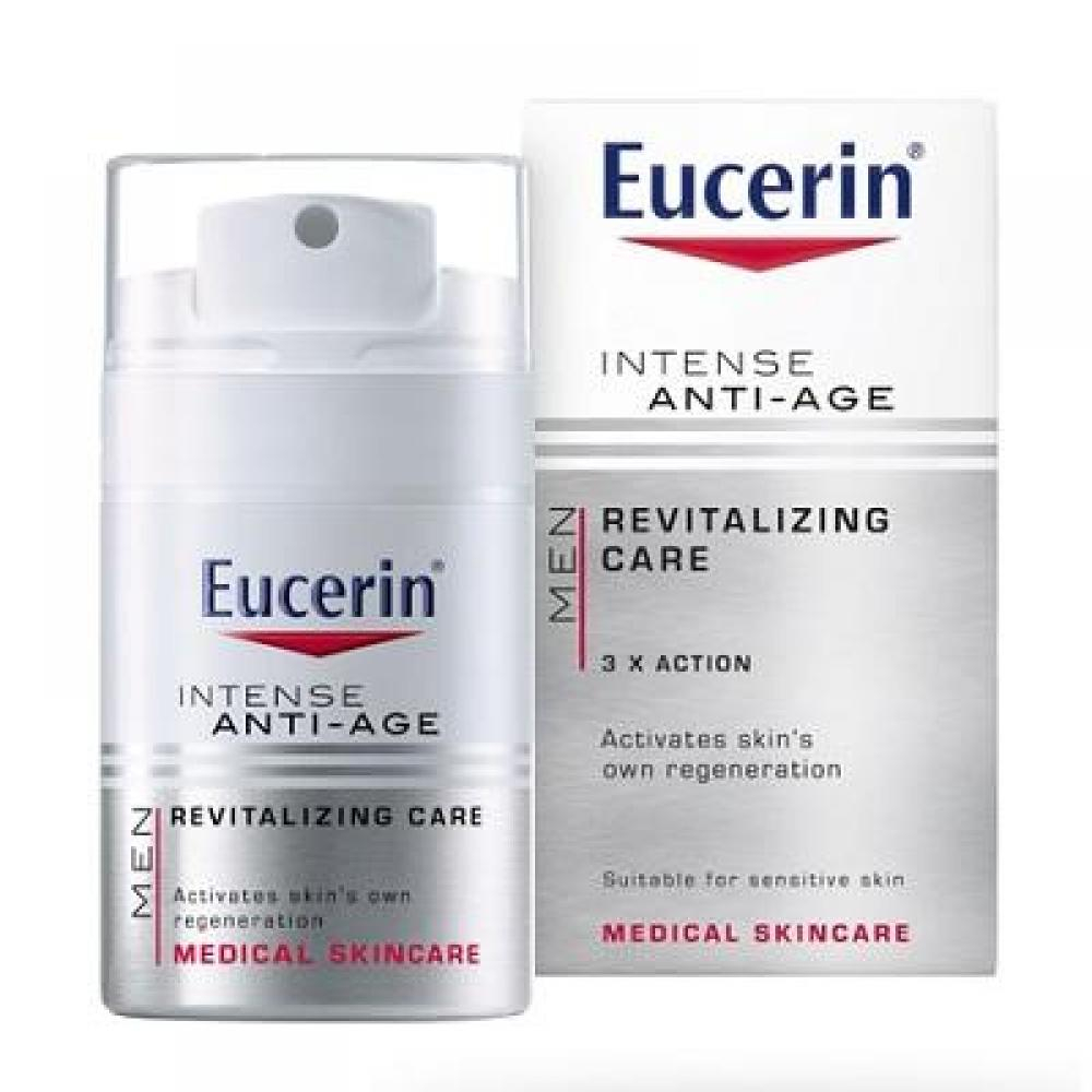 EUCERIN MEN Intenzivní krém proti vráskám INTENSE ANTI–AGE 50 ml