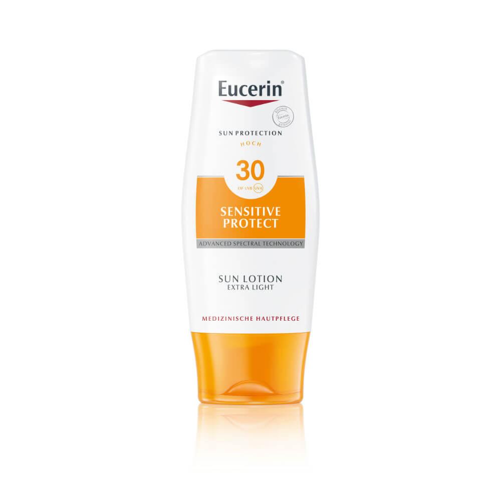 EUCERIN SUN Extra lehké mléko SPF 30 150 ml