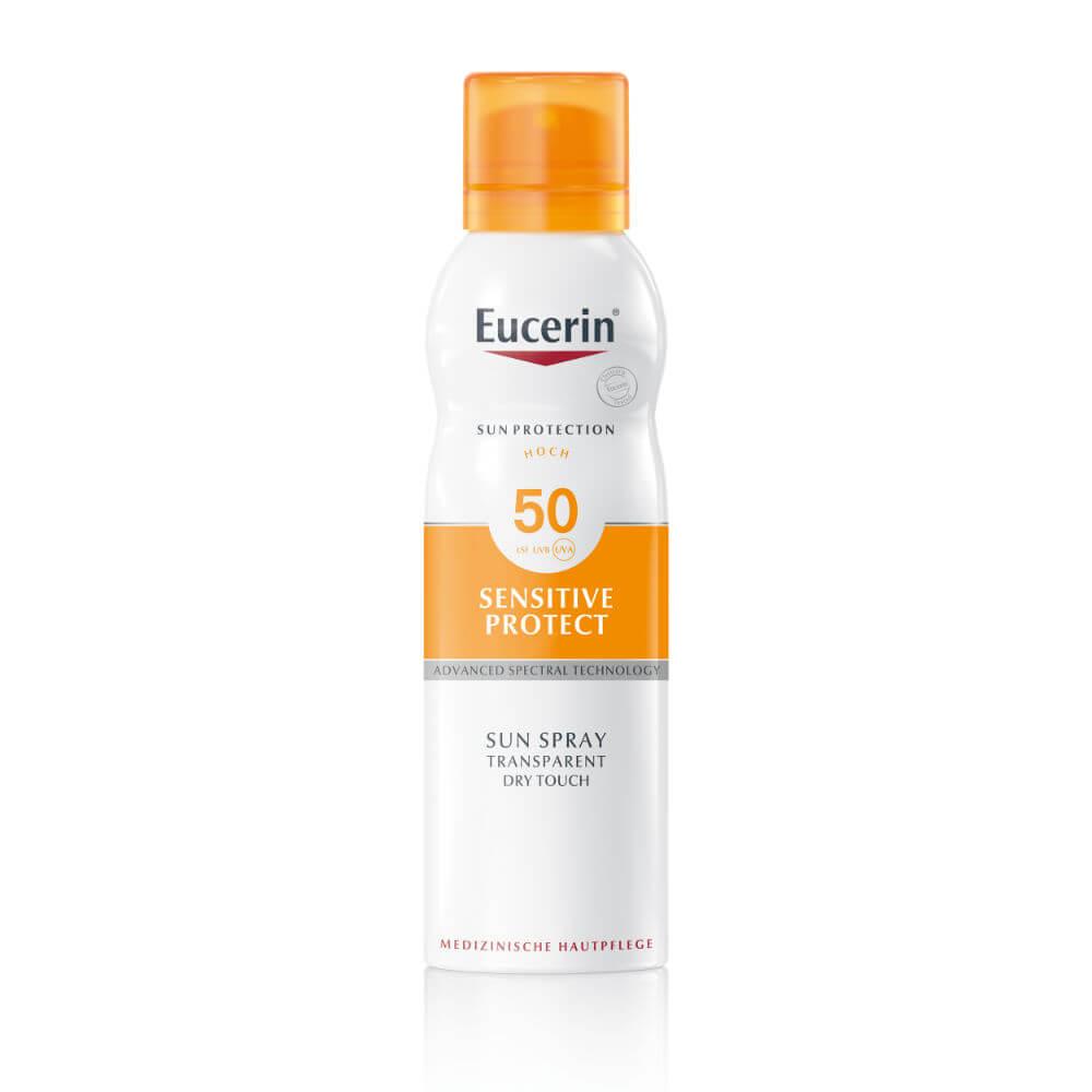 Eucerin Sun transparentní spray SPF50 200 ml