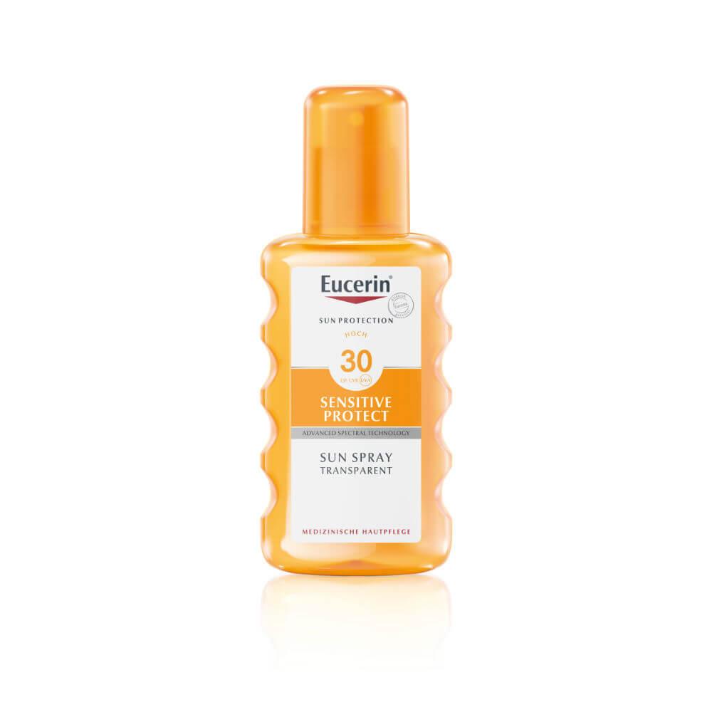 EUCERIN Sun Transparentní sprej na opalování Dry Touch SPF 30 200 ml
