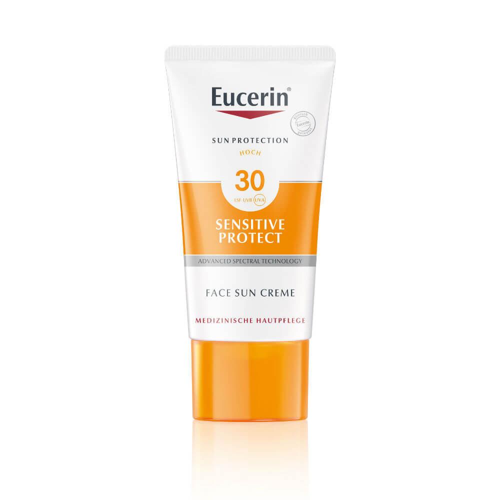 EUCERIN SUN Vysoce ochranný krém SPF 30 na opalování na obličej 50 ml