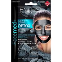 EVELINE Facemed Matt Detox maska 8v1  2x5 ml