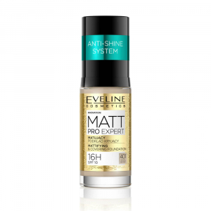 EVELINE COSMETICS Matt Pro Expert NO. 401 COOL  BEIGE 30 ml
