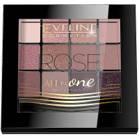 EVELINE Oční stíny All in One - ROSE