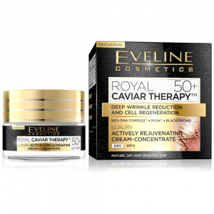 EVELINE COSMETICS Royal Caviar Actively rejuvenating day cream-concentrate 50+ 50 ml