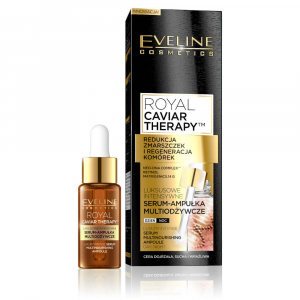EVELINE COSMETICS Royal Caviar Day and night intense serum in dropper 18 ml