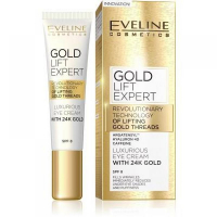 EVELINE Gold Lift Expert Eye Cream 40+ 15 ml