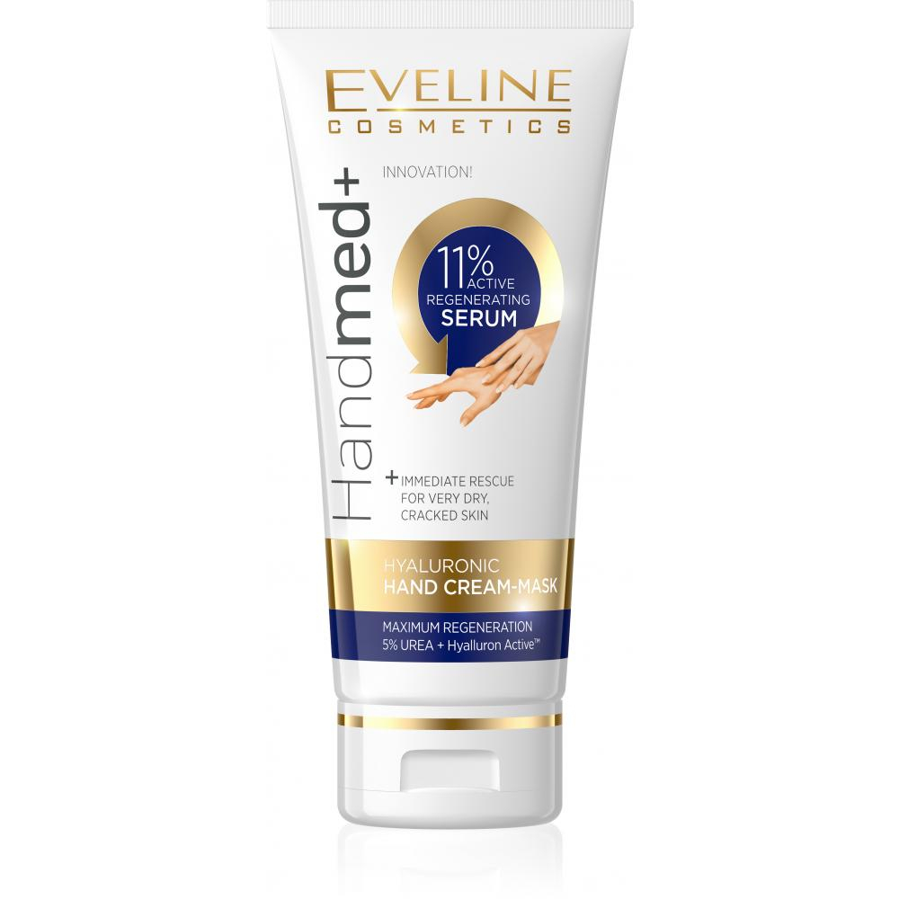 EVELINE HANDMED+ Aktivní 11% regenerační hyaluronový krém a maska na ruce