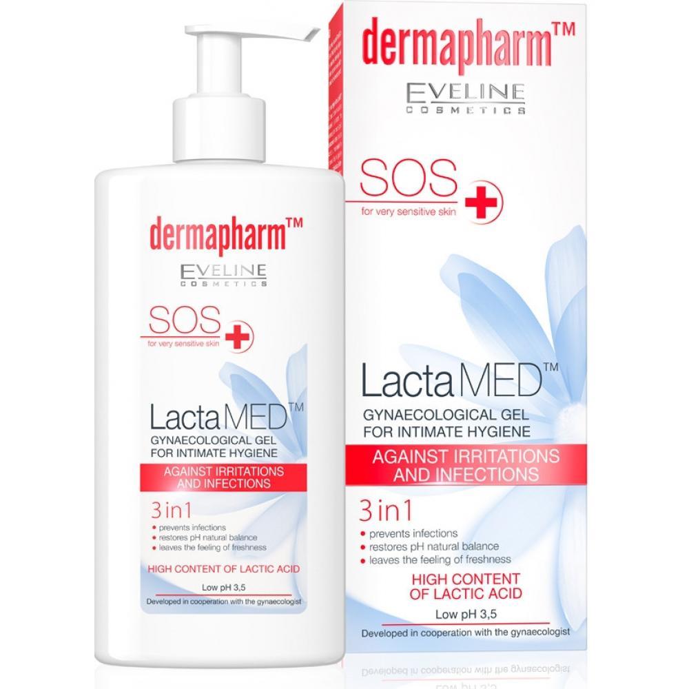 EVELINE LactaMED protizánětlivý intimní gel 250 ml