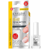 EVELINE Spa Nail Total 8v1 Silver 12 ml
