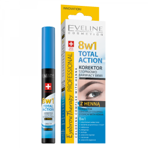 EVELINE Total Action Korektor na obočí s henou 10 ml