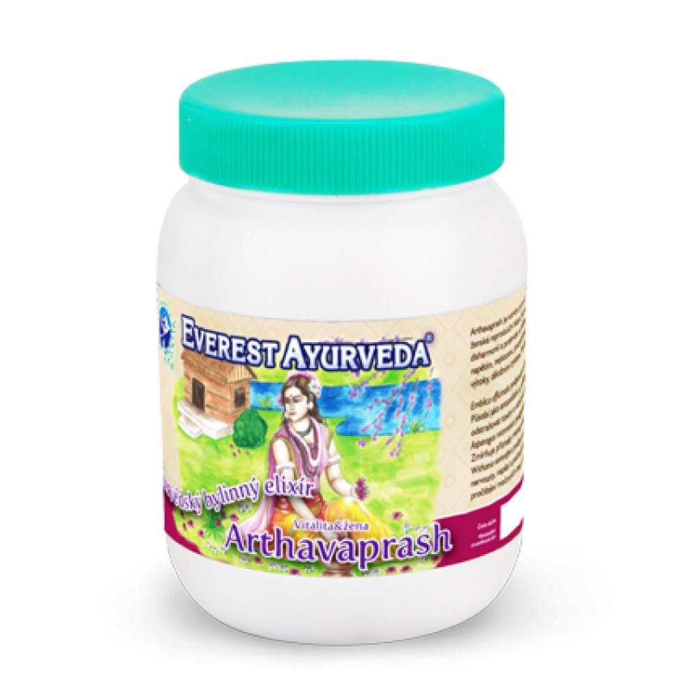 EVEREST AYURVEDA Arthavaprash vitalita a žena 200 g bylinného džemu