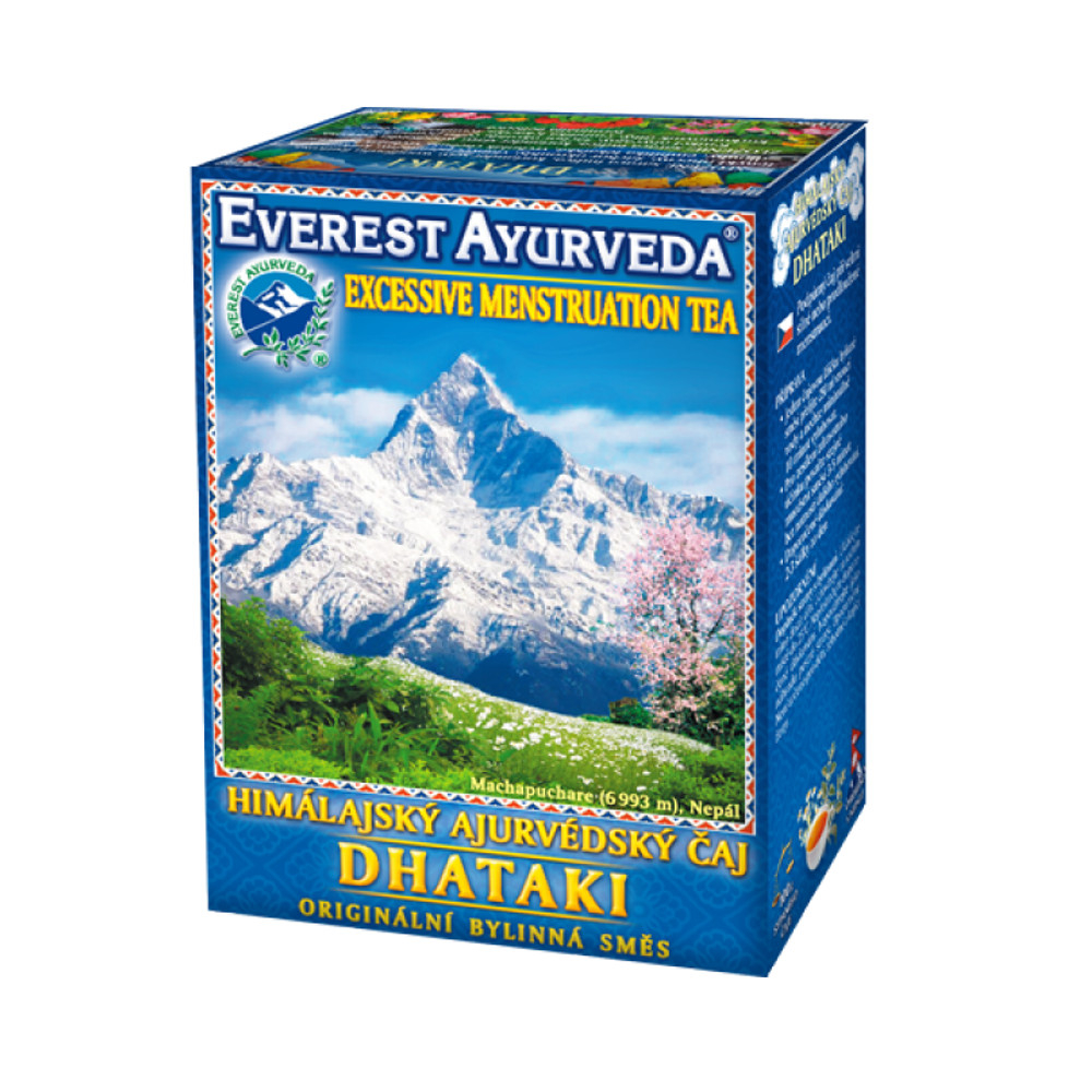 EVEREST-AYURVEDA DHATAKI Silná menstruace 100 g sypaného čaje