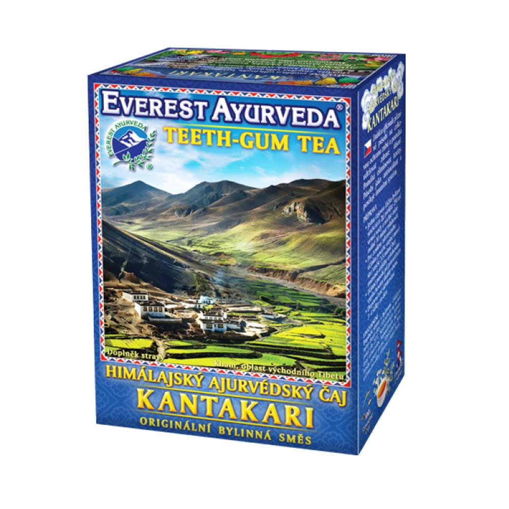 EVEREST AYURVEDA KantakariI zuby a dásně sypaný čaj 100 g