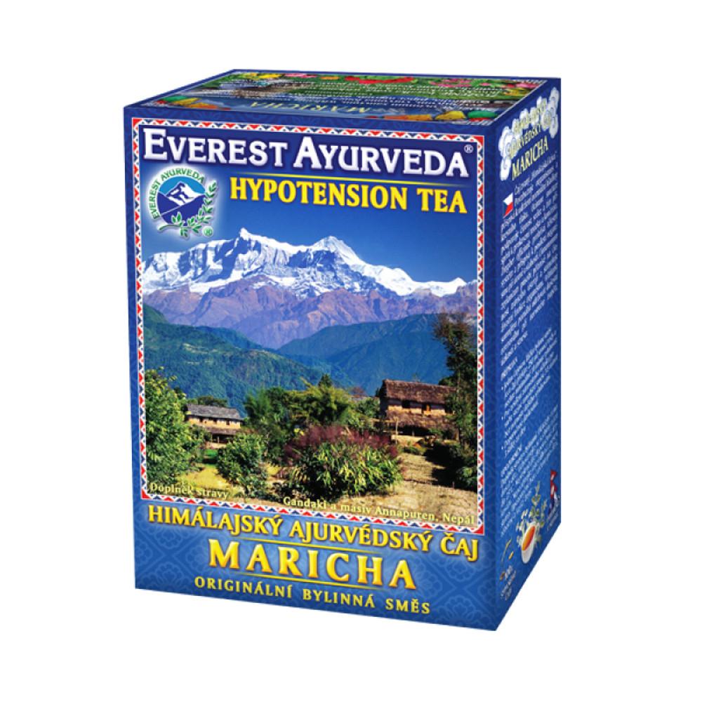 EVEREST-AYURVEDA MARICHA Snížený krevní tlak 100 g sypaného čaje