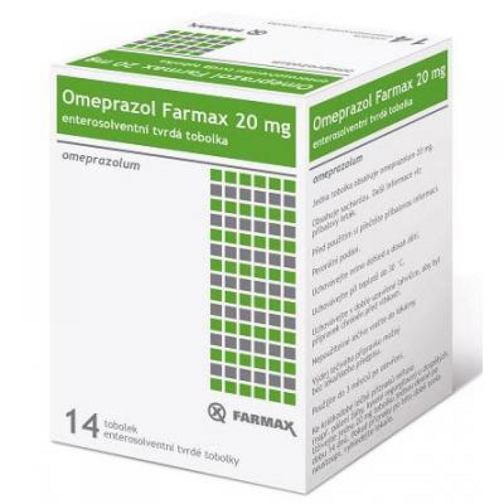 FARMAX Omeprazol tobolky 14x20 mg