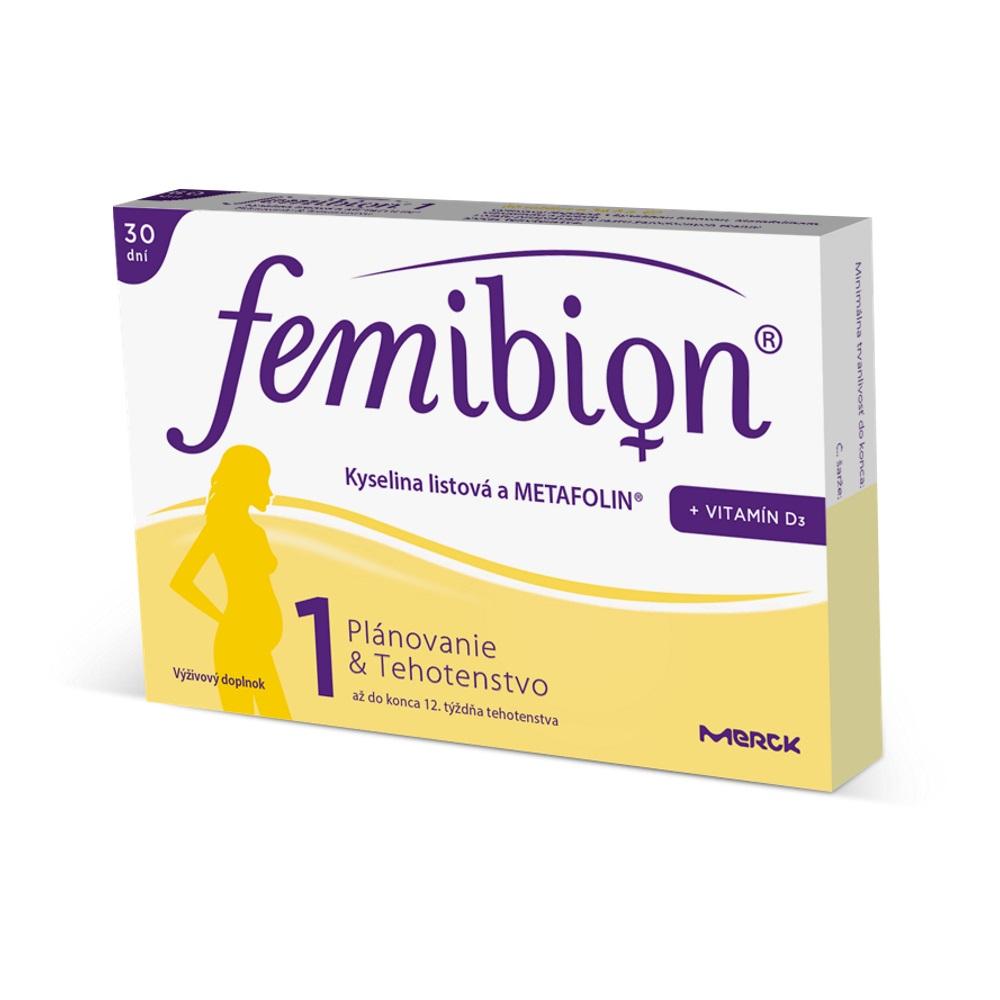 Femibion 1 s vit. D3 tabl.30