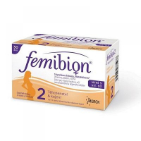 FEMIBION 2 s vitaminem D3 30 tablet + 30 tobolek