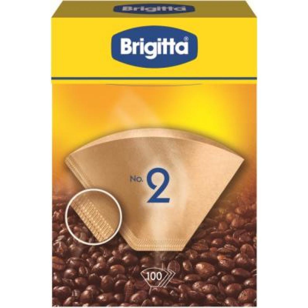 Filtry do překapávačů kávy 1x2/100 Melitta Brigitta