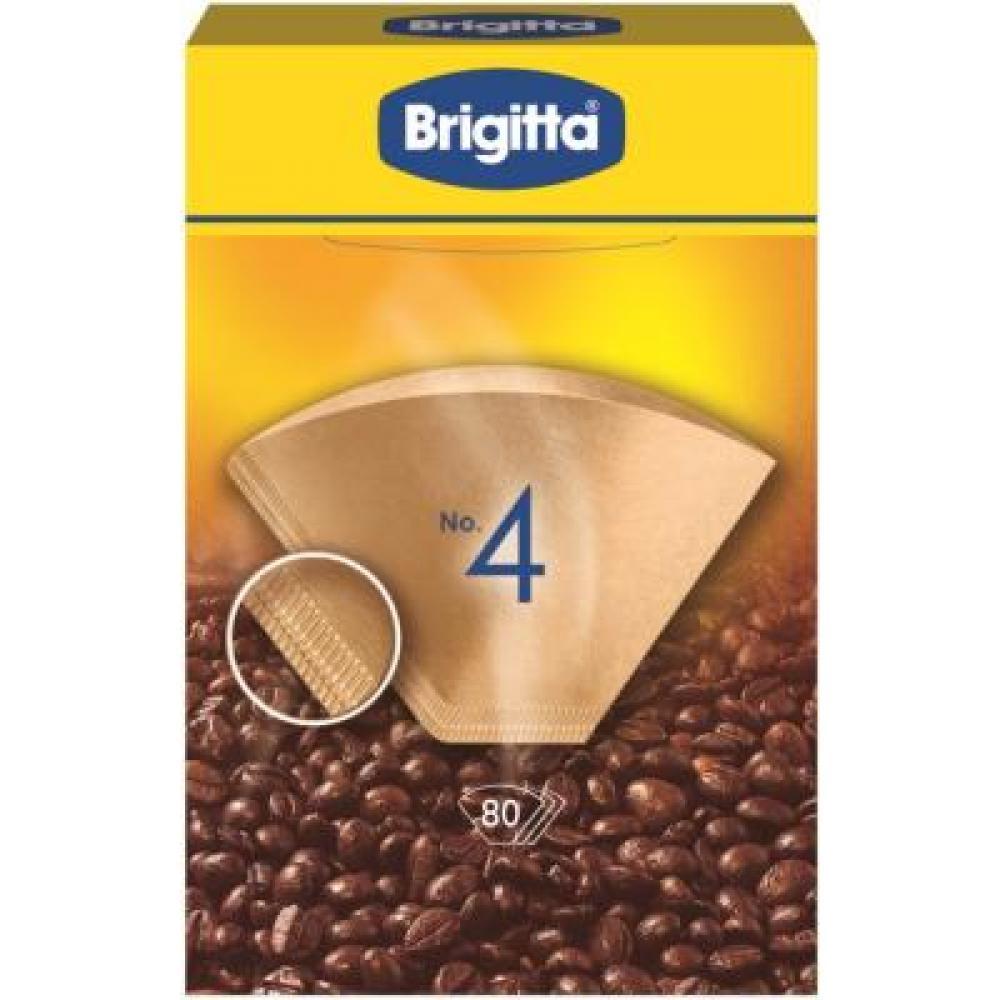 Filtry do překapávačů kávy 1x4/80 Melitta Brigitta