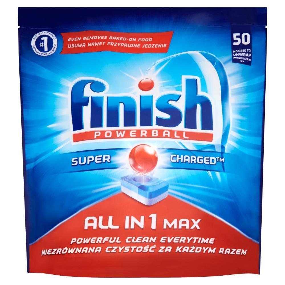 FINISH Powerball All in 1 Max tablety do myčky na nádobí 50 kusů