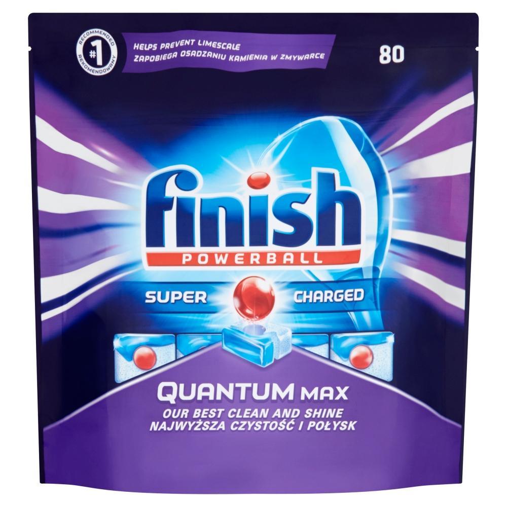 FINISH Quantum Max tablety do myčky na nádobí 80 kusů