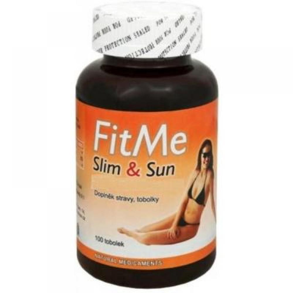Natural Medicaments FitMe Slim & Sun 100 kapslí