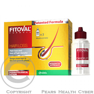 Fitoval Plus lotion 2x40ml