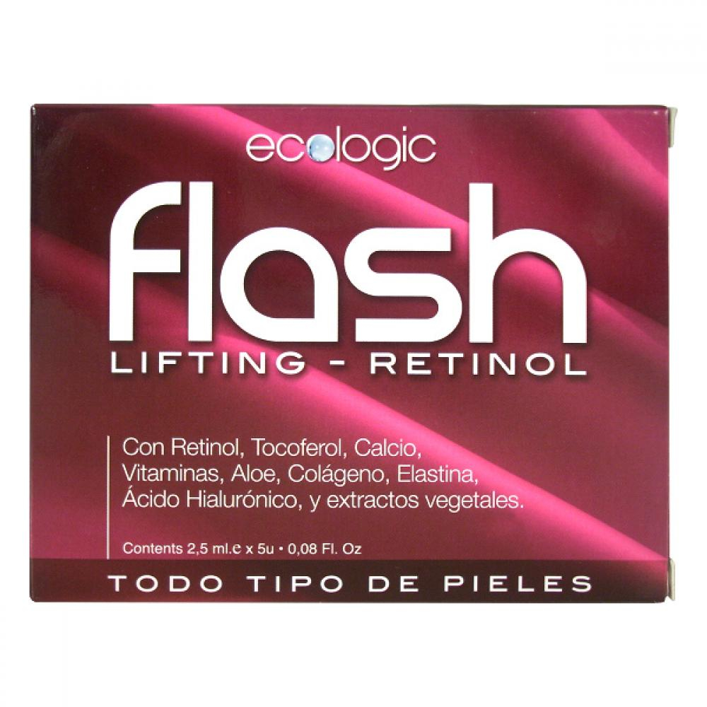 DIETESTHETIC Flash lifting retinol - ampulky proti vráskám 5x2,5 ml
