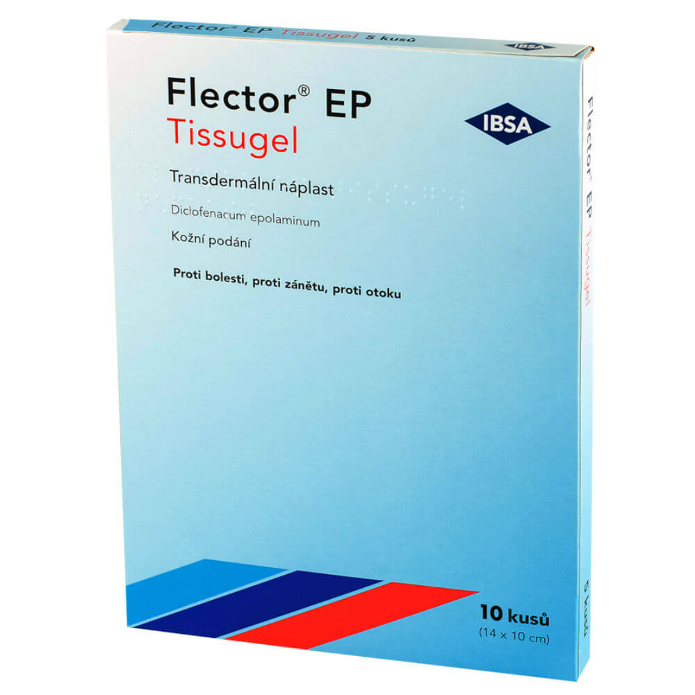 FLECTOR EP Tissugel 180mg emp.tdr. 10 ks