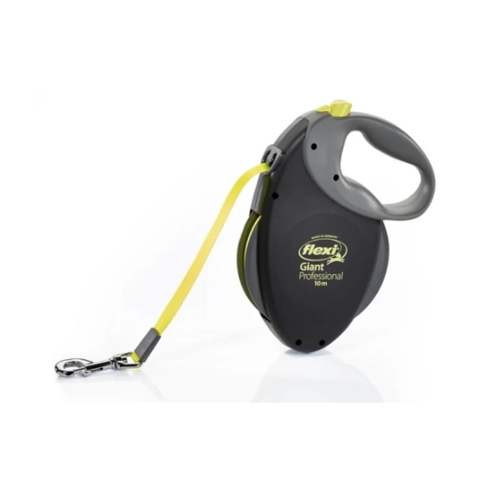 FLEXI Vodítko s páskem neon Giant Professional L 10 m/50 kg