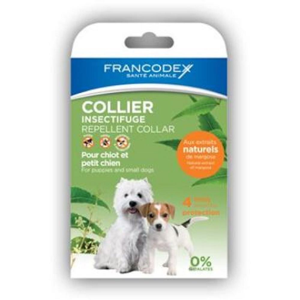 FRANCODEX Repelentní obojek pro malé psy a štěňata