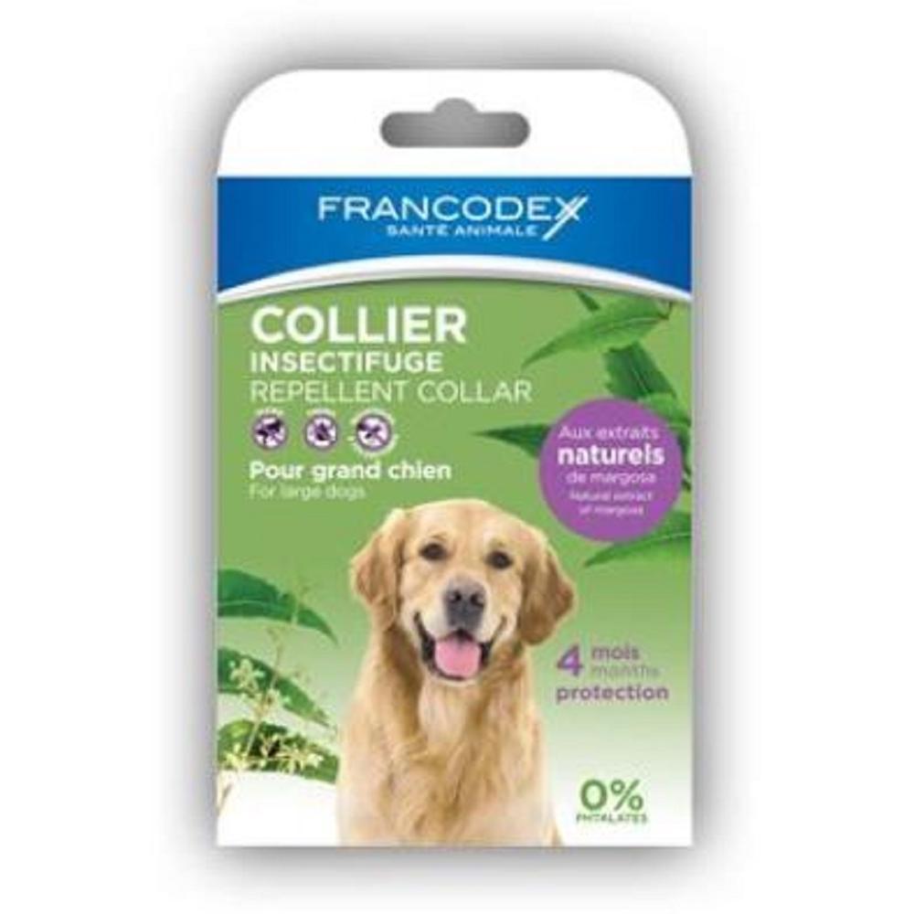 FRANCODEX repelentní obojek pro psy velkých plemen