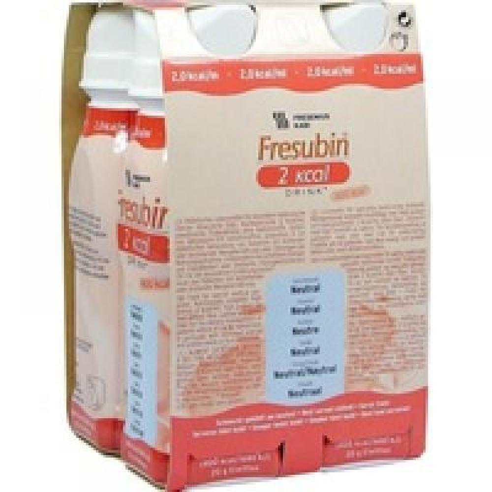 FRESUBIN 2 KCAL DRINK NEUTRAL 4X200ML Roztok