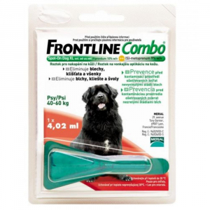 FRONTLINE combo spot-on dogs a.u.v. roztok 1x4,02 ml