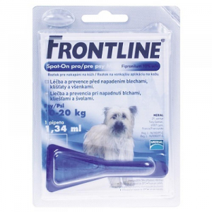 FRONTLINE spot-on dog M a.u.v. roztok 1x1 1,34 ml