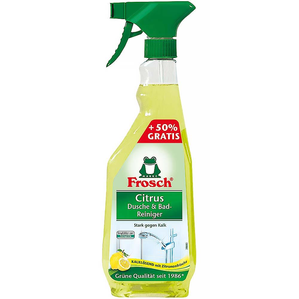 FROSCH EKO Čistič na koupelny a sprchy citron - přeplňovaná varianta 750 ml