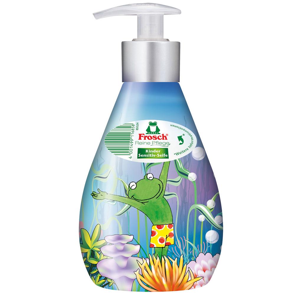 FROSCH EKO Tekuté mýdlo pro děti s dávkovačem 300 ml