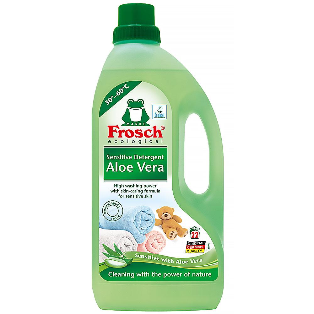 FROSCH Prací prostředek sensitive Aloe vera EKO 1500 ml