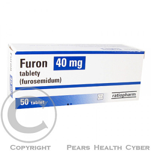 FURON 40 MG  50X40MG Tablety