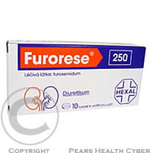 FURORESE 250  10X250MG Tablety