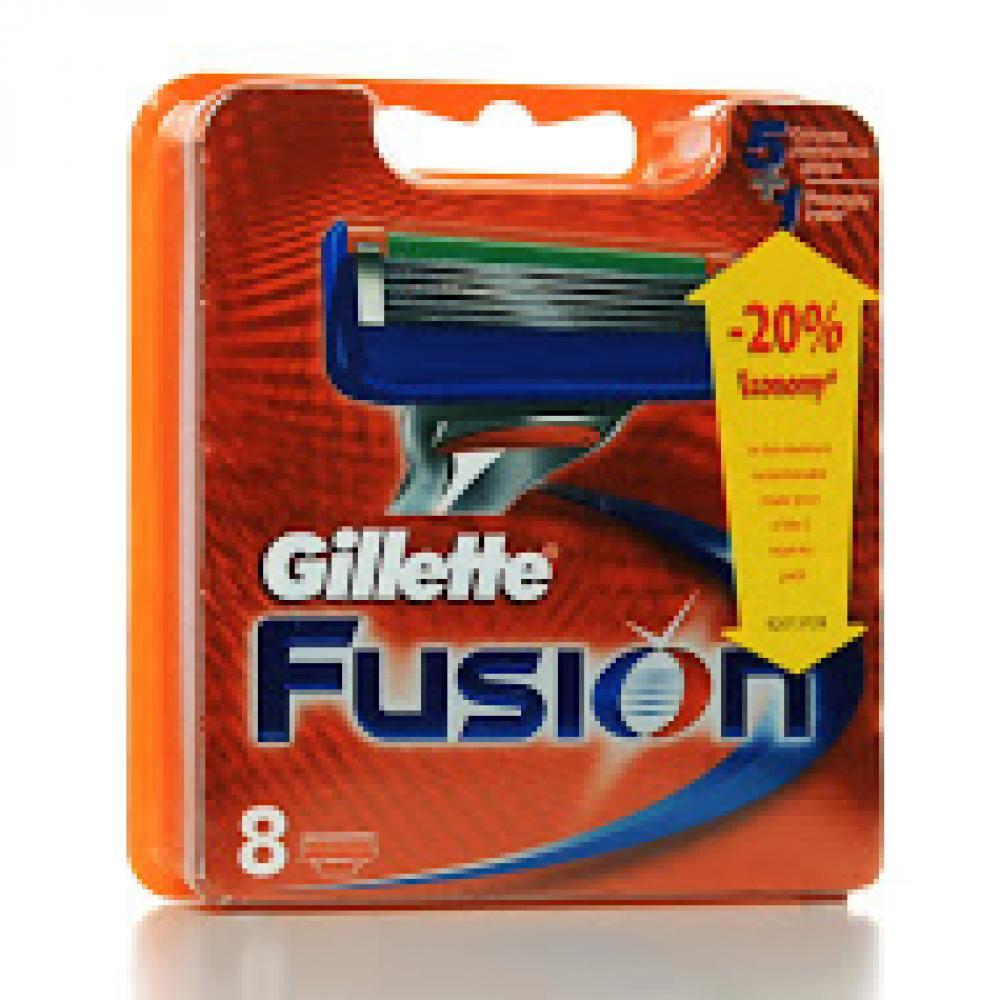 GILLETTE Fusion náhradní hlavice 8 ks