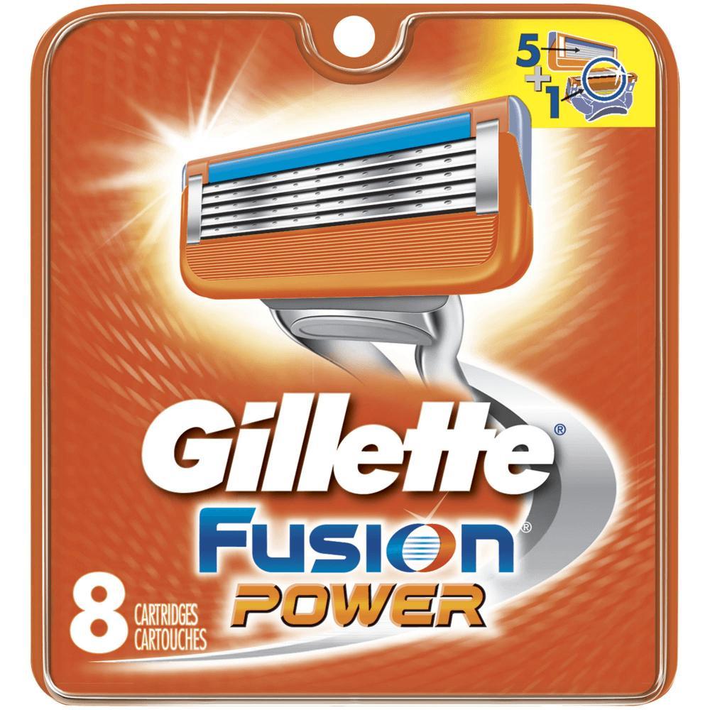 GILLETTE Fusion POWER náhradní hlavice 8 ks
