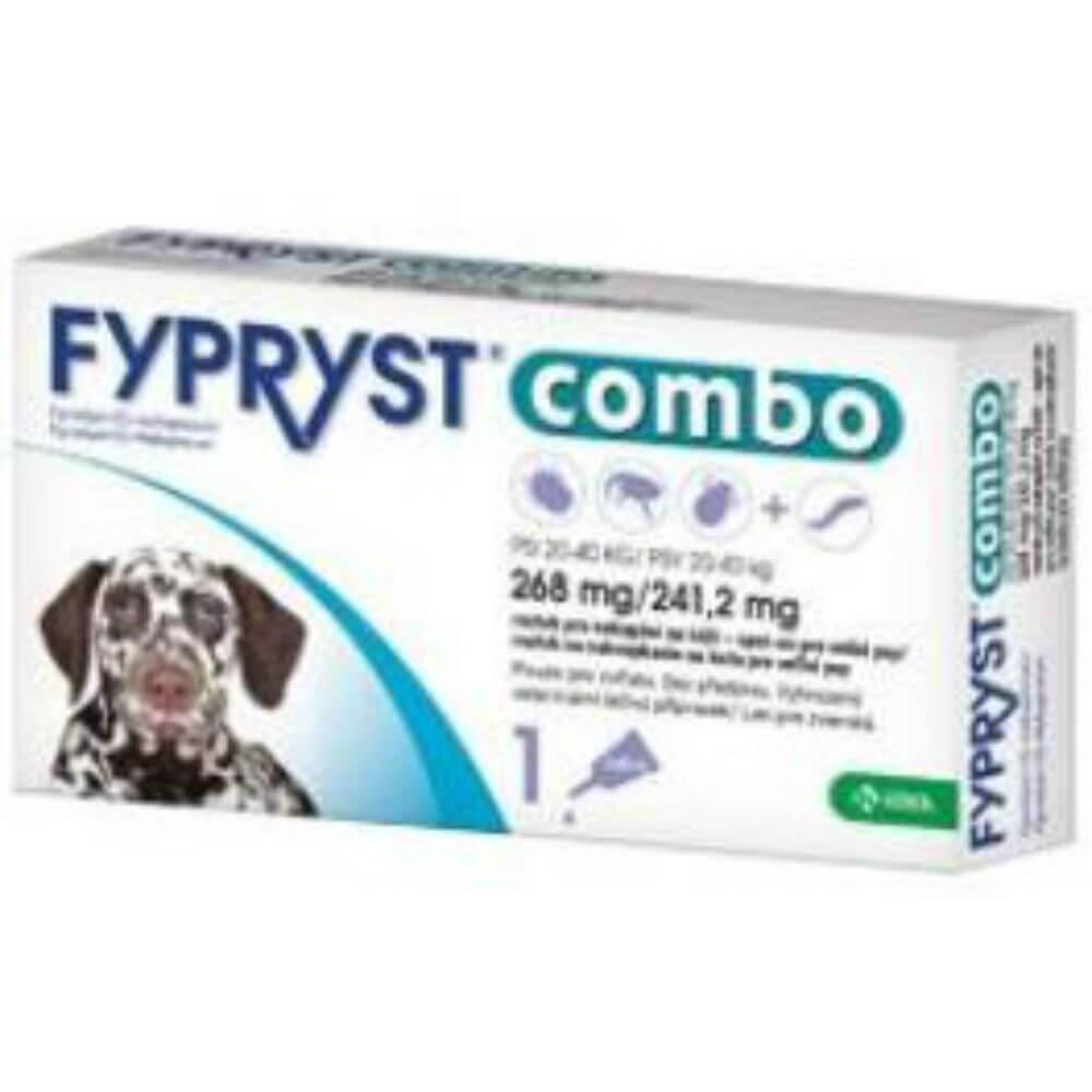 FYPRYST combo spot-on 268/241 pes velký 1x2 mg