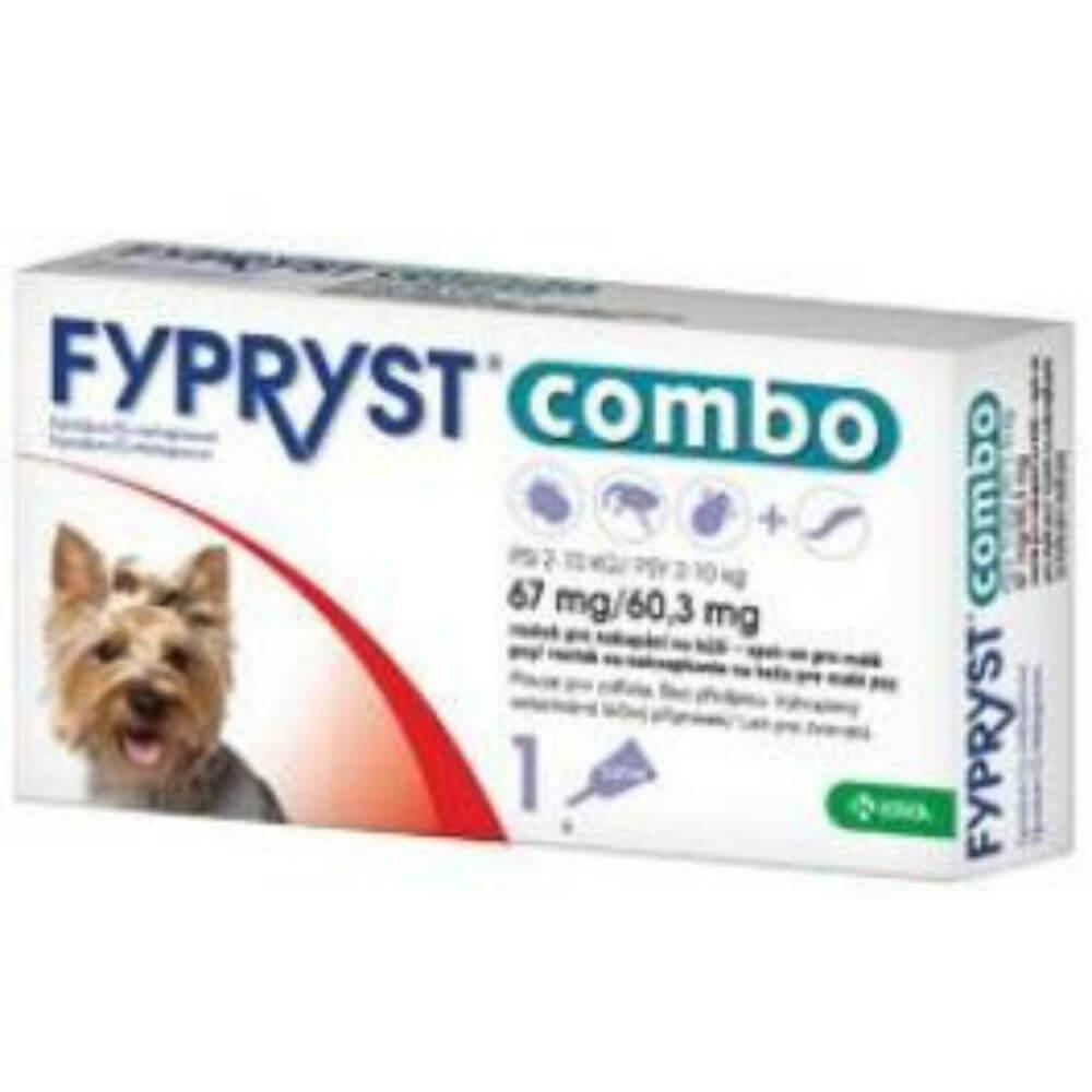 FYPRYST combo spot-on 67/60 pes malý 1x3 mg