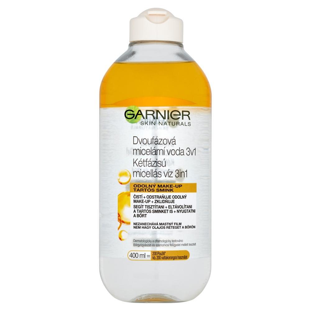 GARNIER Skin Naturals dvoufázová micelární voda 3v1 400 ml