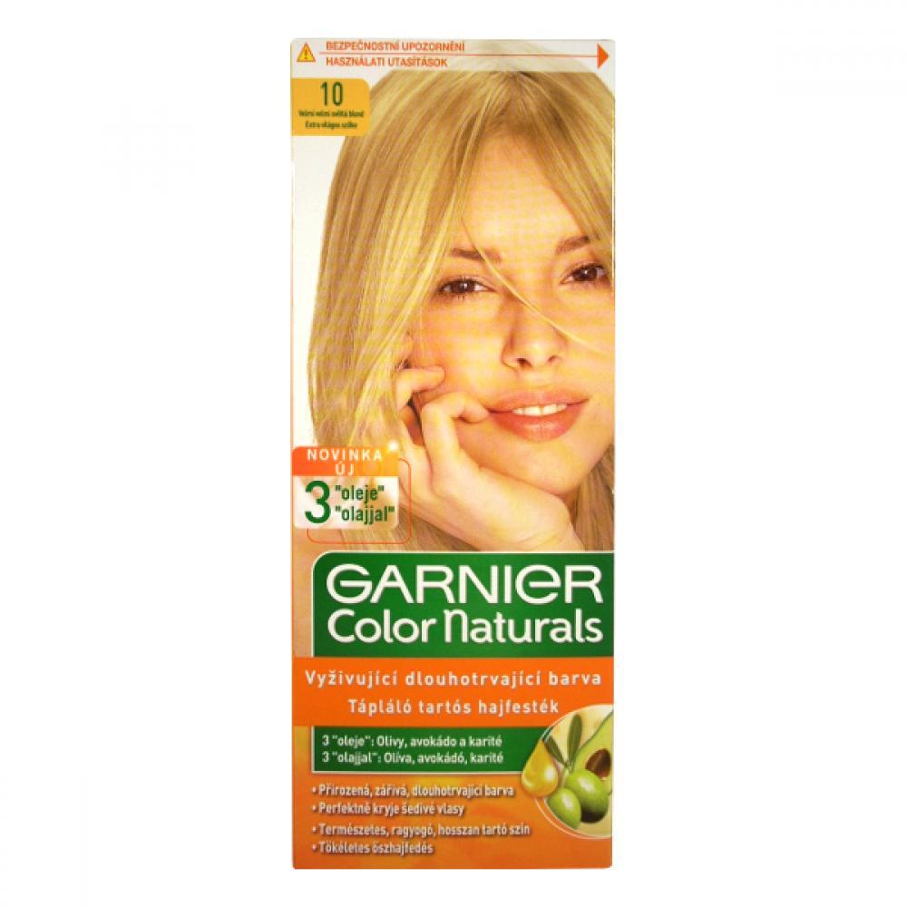 GARNIER Color Naturals barva na vlasy odstín 10 velmi světlá blond