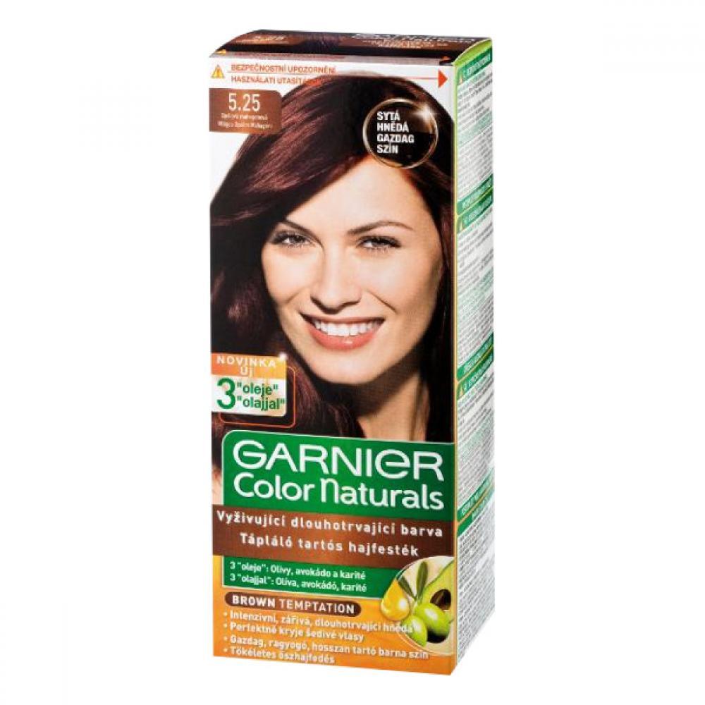 GARNIER Color Naturals barva na vlasy odstín 5,25 opálová mahagonová